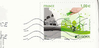 Europa stamp France 2016