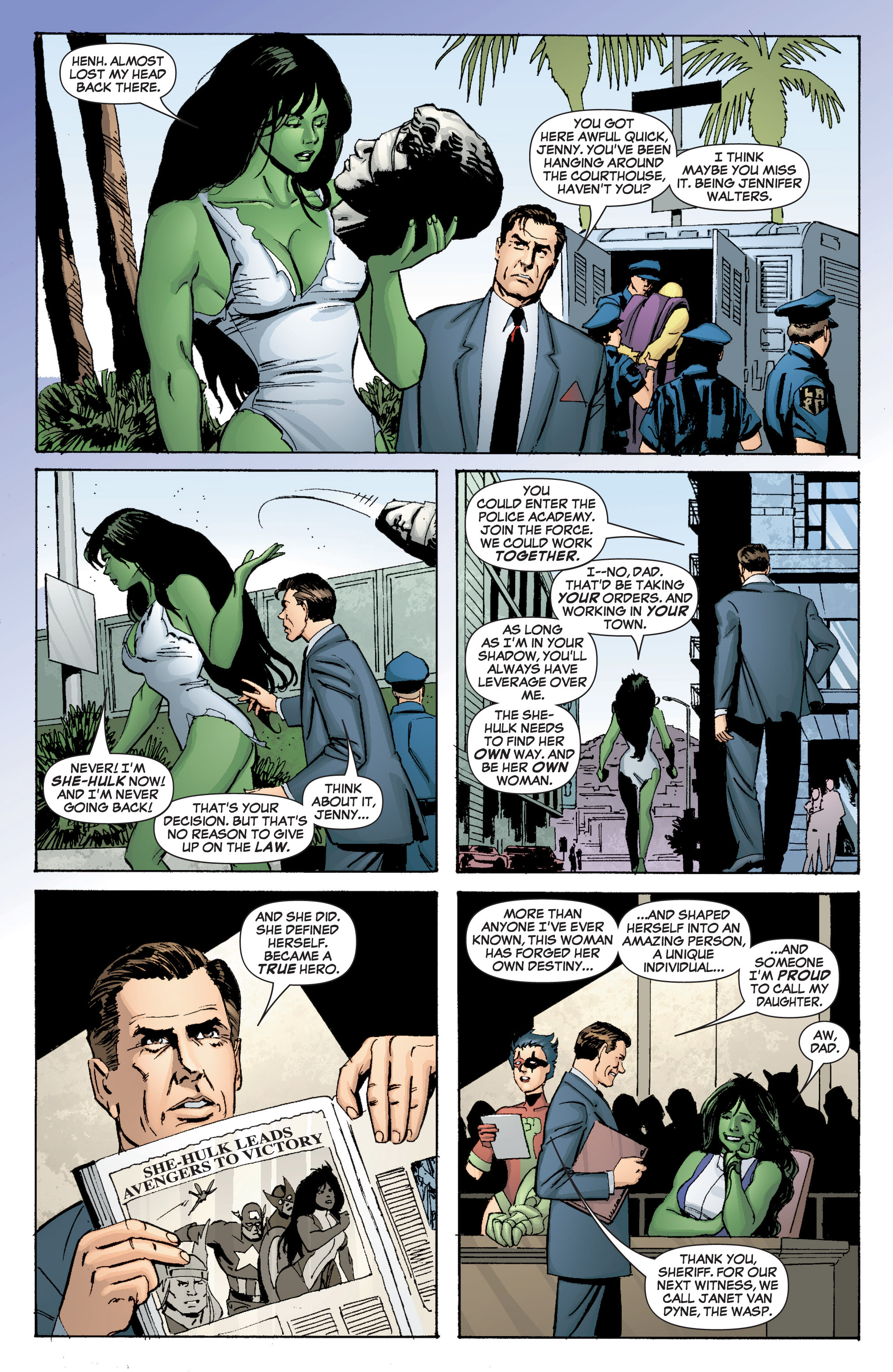 Read online She-Hulk (2005) comic -  Issue #3 - 13