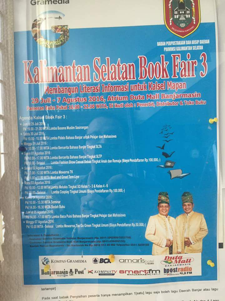Kalimantan Selatan Book Fair 3 2016