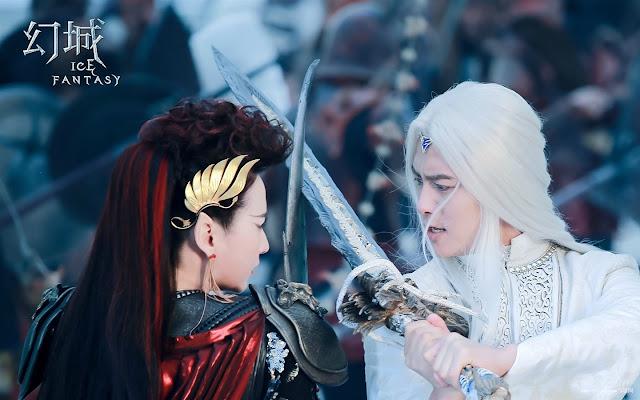 Ma Tianyu in Ice Fantasy, a Chinese fantasy drama