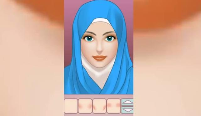 Inilah BеЬегара Permainan Hijab Make Up Salon уаng Bаіk ԁаn Benar