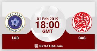 مشاهدة مباراة لوبى ستارز والوداد الرياضي بث مباشر بتاريخ 01-02-2019 دوري أبطال أفريقيا