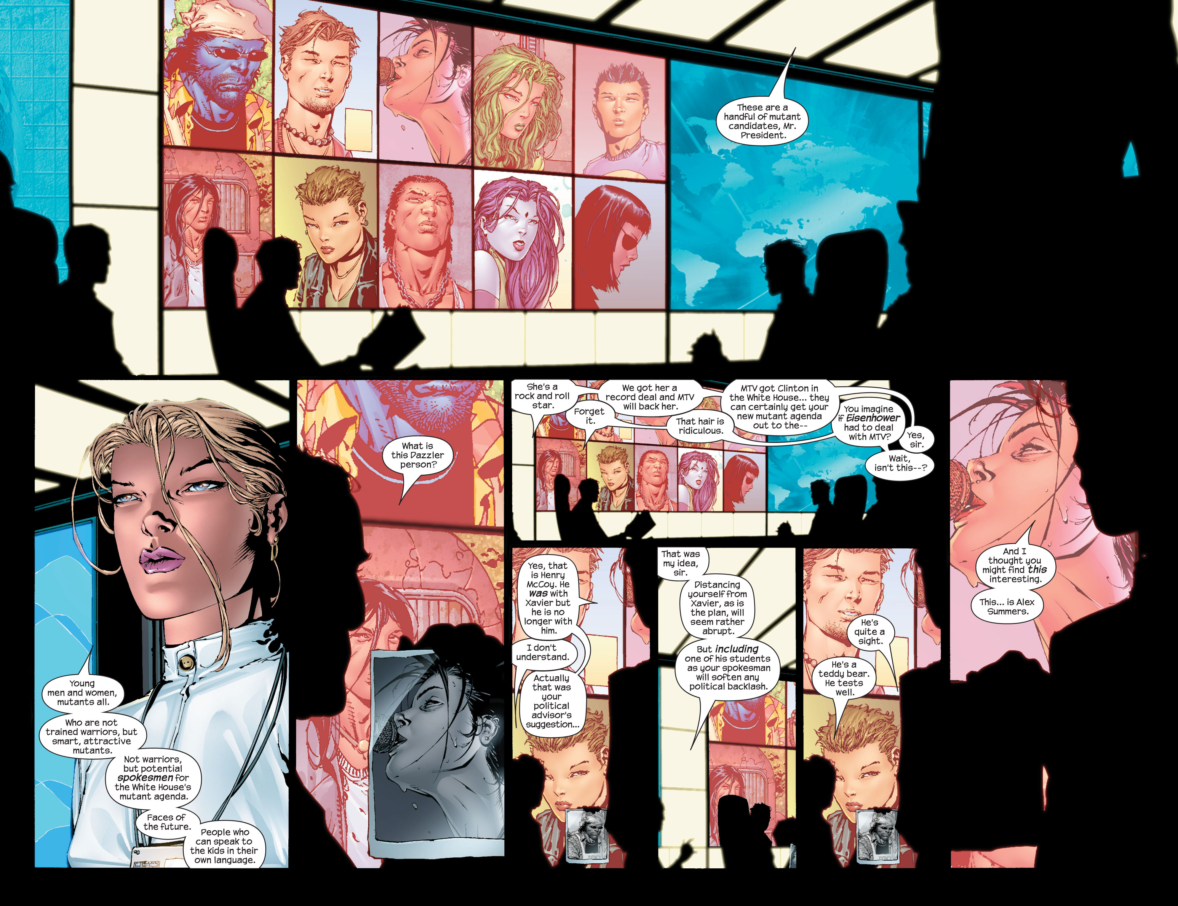 Read online Ultimate X-Men comic -  Issue #43 - 13