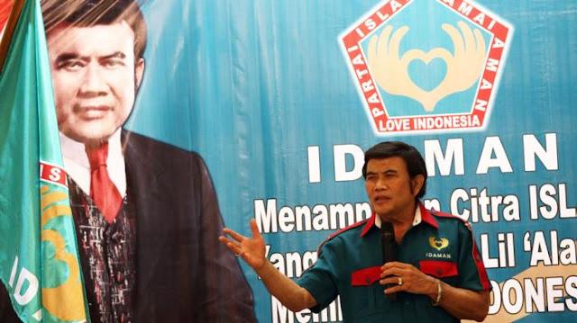 Nasib.... Bang Haji Pasti Kecewa Berat, Nasib Partai Idaman Kandas Bersama PIKA dan PPPI di Sidang Bawaslu....