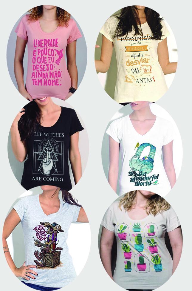 32edd0d51 Amo camisetas com estampas bacanas para compor os looks do dia a dia de  forma criativa e dar um  up  em qualquer visual basiquinho.