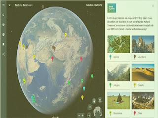 Fitur Voyager Di Layanan Google Earth