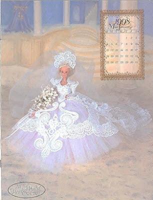 Barbie vestido de crochet PAP em português