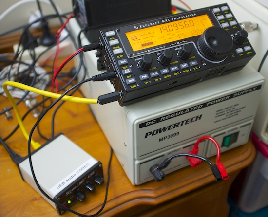 marxy's musing on technology: KX3 on air with a Signalink USB