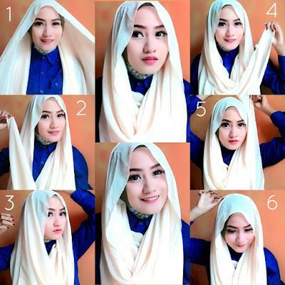 Kreasi Hijab Simple Untuk Bekerja Yang Terbaru