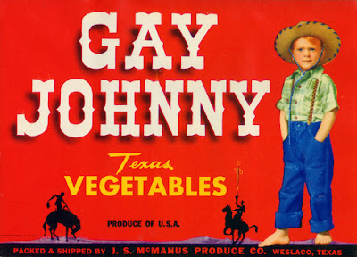 Gay Johnny Texas Vegetables