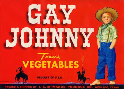 Gay Johnny Texas Vegetables