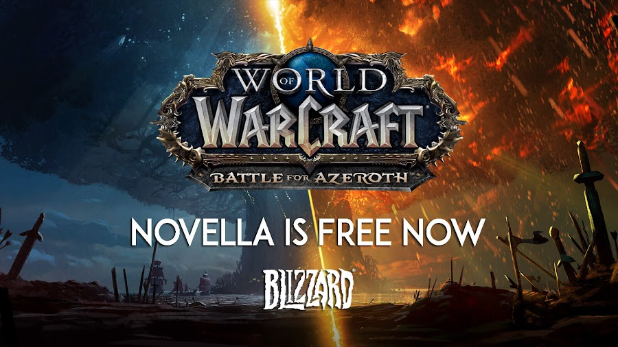 world of warcraft battle for azeroth collectors edition novella