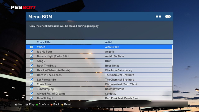 PES 2017 Shaun's Soundtrack Patch v1 by ShaunLeeds 2017