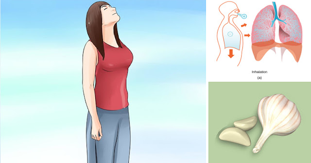 Cleanse Your Lungs By Eating Garlic at This Specific Time of The Day