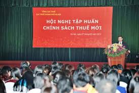 Cục thuế TP.HCM mời tập huấn thuế năm 2015