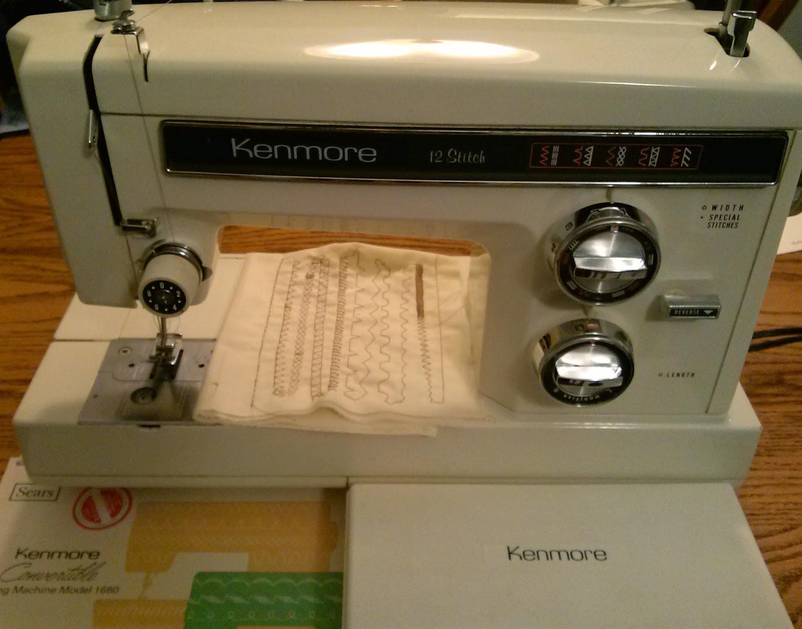Kenmore 1680 after adjustments