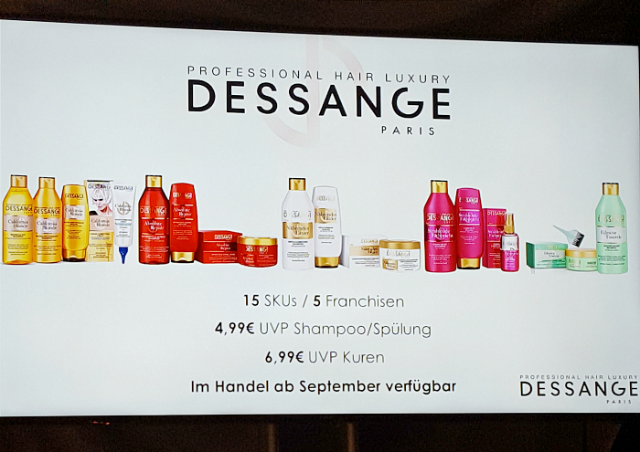 DESSANGE Paris Professional Hair Luxury erhältlich ab September in Deutschland
