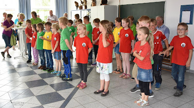 An der Grundschule in Hohenaspe