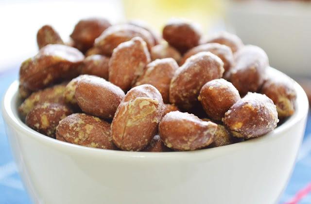 receita de amendoim salgado