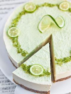 Cheesecakes au citron vert