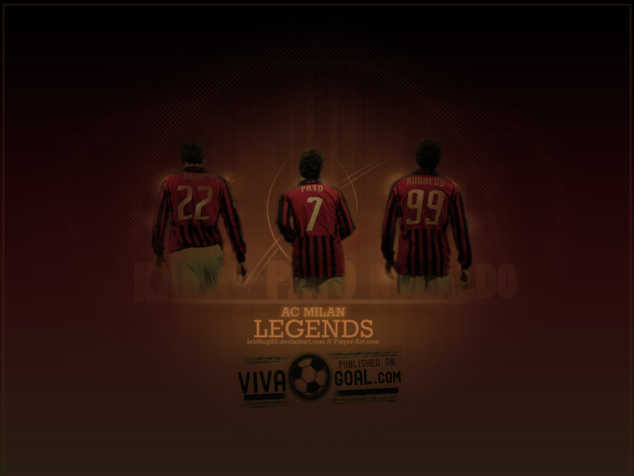 Wallpaper Collection For Your Computer and Mobile Phones: UEFA Champions League  A.C. Milan