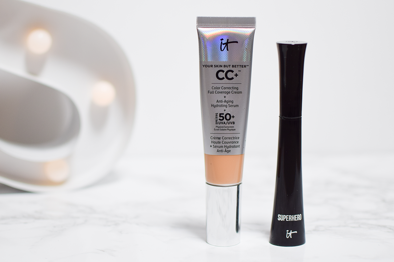 It Cosmetics Your Skin But Better CC+ Cream and Superhero Mascara Review