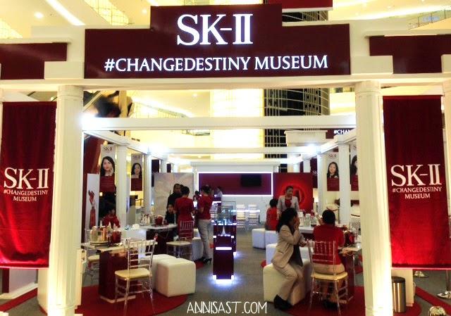 change destiny musem sk-ii senayan city jakarta