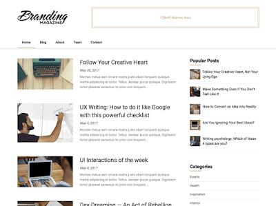 Feather Magazine WordPress Theme