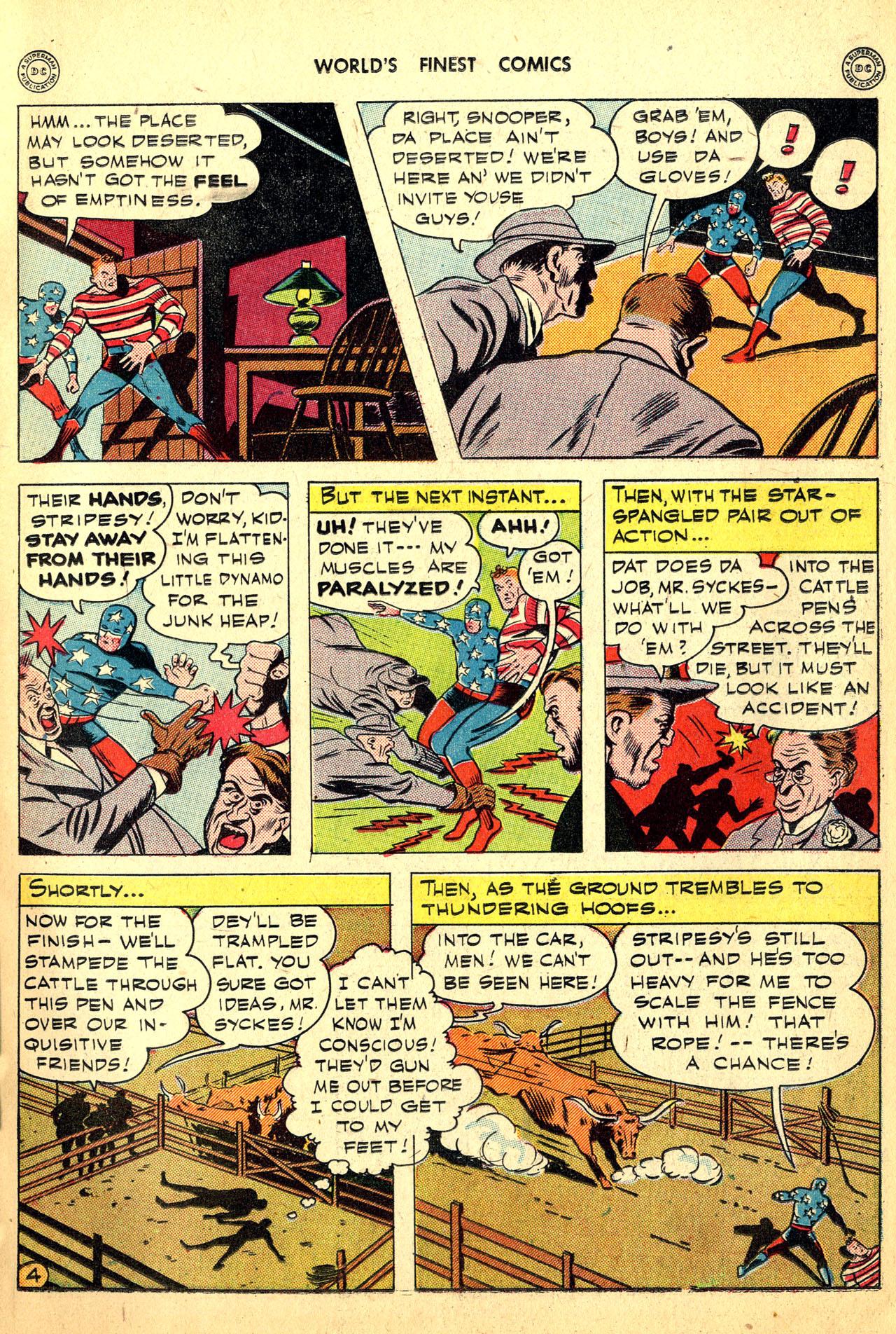 Read online World's Finest Comics comic -  Issue #18 - 19