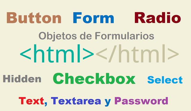Objetos de Formularios HTML