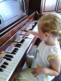 Piano Student Learning Black Key Groups Teaching Piano Patterns from the Start