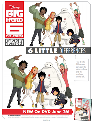big hero 6 the series printables