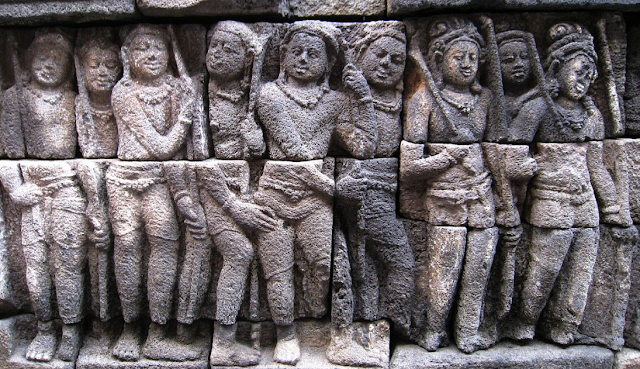 Relief of Borobudur Temple