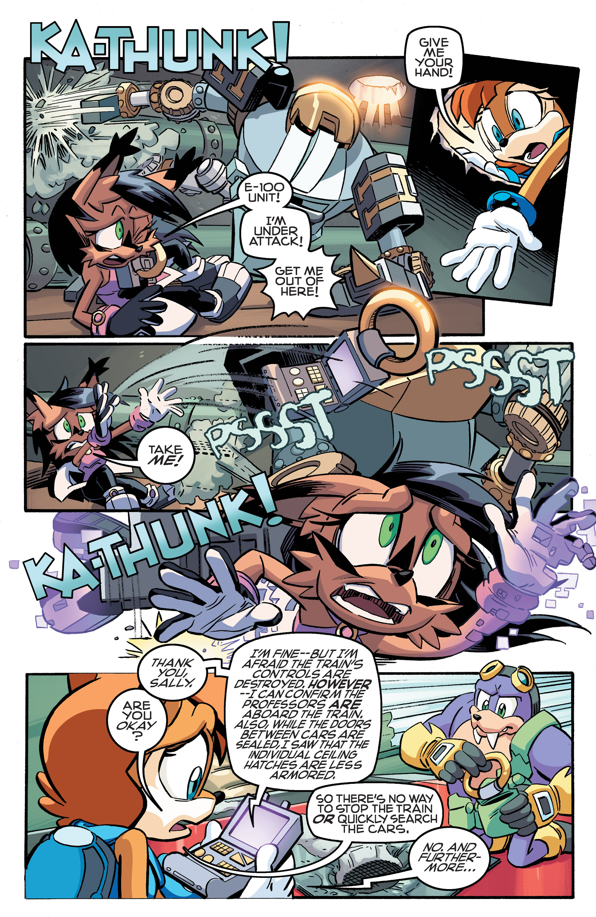 Read online Sonic The Hedgehog comic -  Issue #258 - 10