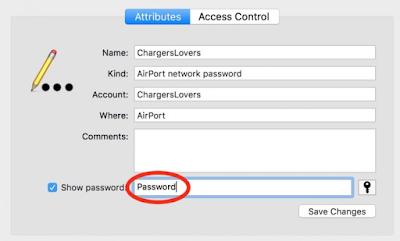 كيفية إظهار كلمة مرور Wi-Fi على نظام MacOS