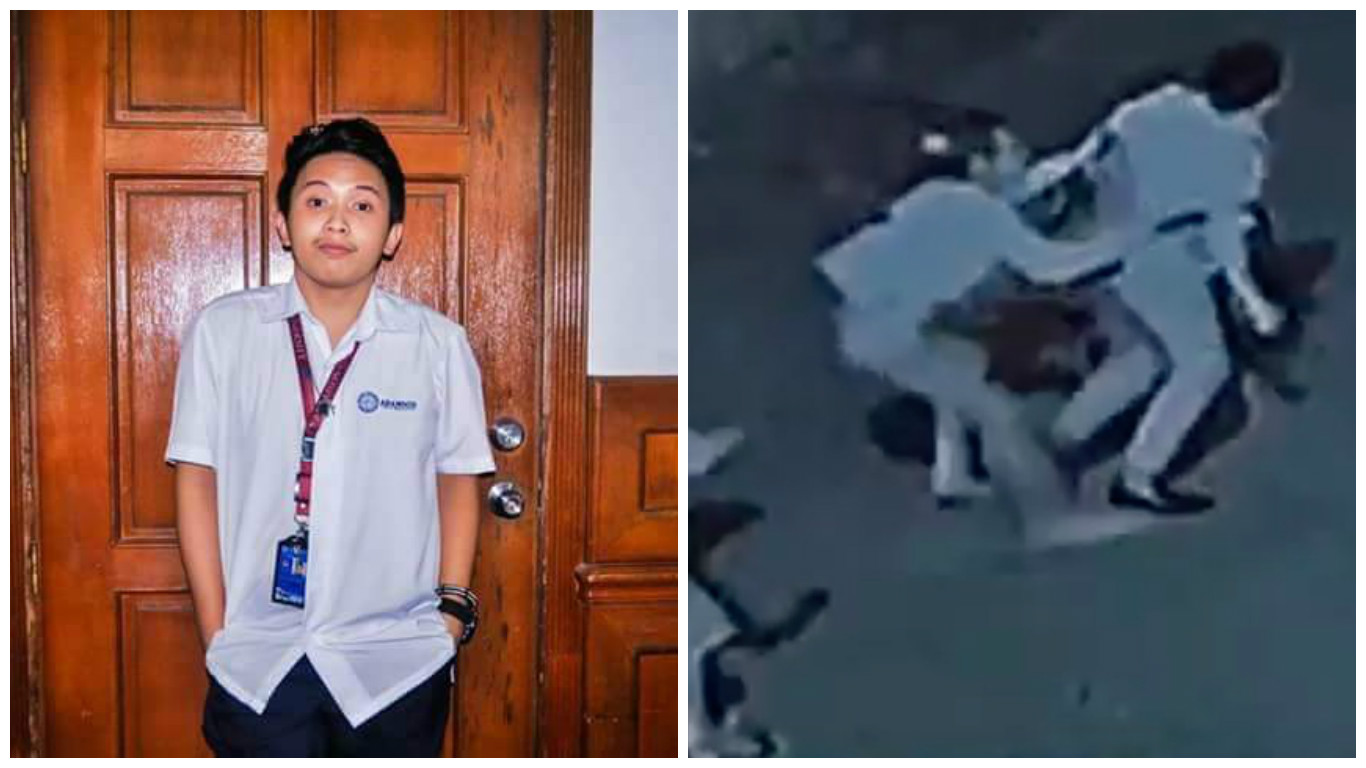 CCTV footage shows brutally stabbed student pleading for help, gets ignored