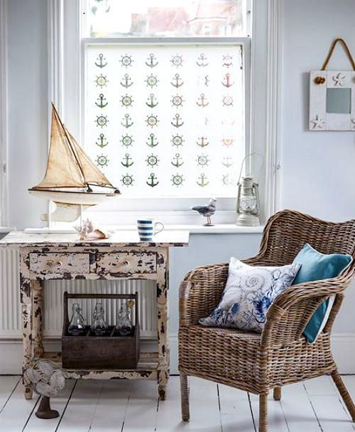 coastal window treatments bamboo decorative coastal nautical window films decals treatments decor ideas and