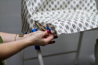 como hacer unas fundas para sillas