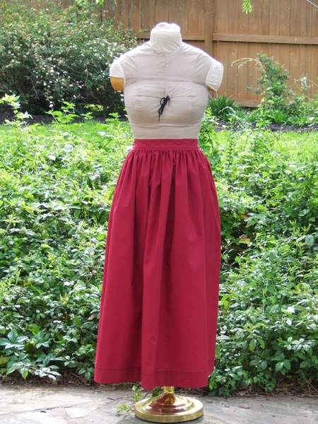 How to Make an Easy Pioneer Skirt by Show Tell Share