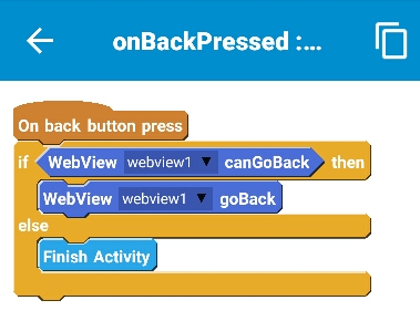 How to insert html code in Android app created with Sketchware