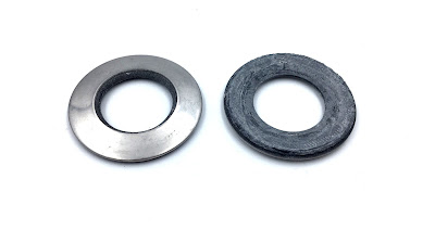 Custom 316 Stainless Sealing Washers - Neoprene Bonded Sealing Washers In 316 Stainless Steel Material