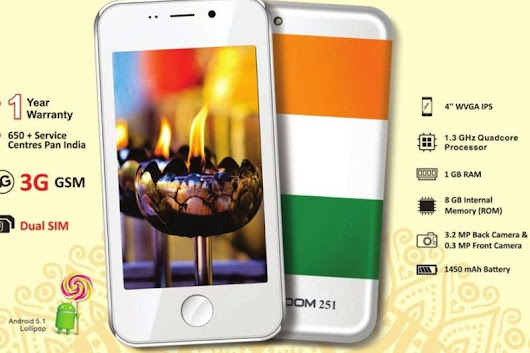 Freedom 251 Maker Starts Delivery of 65,000 Units to Customers - Bloggeria