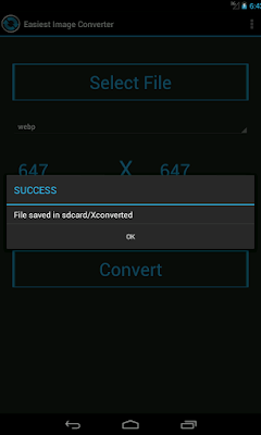 Easiest Image Converter Android