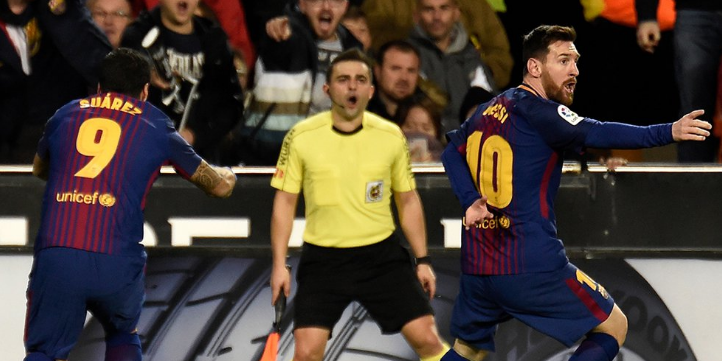 Referee Messi ghost goal back Give a Ridiculous Penalty