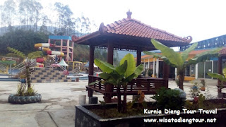 gazebo tempat santai di dqiano water park