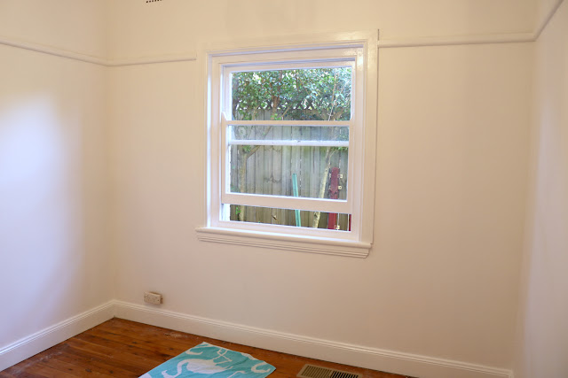Complete Room Makeover - From Spare Bedroom to Home Office - The Blank Slate Ready to Decorate