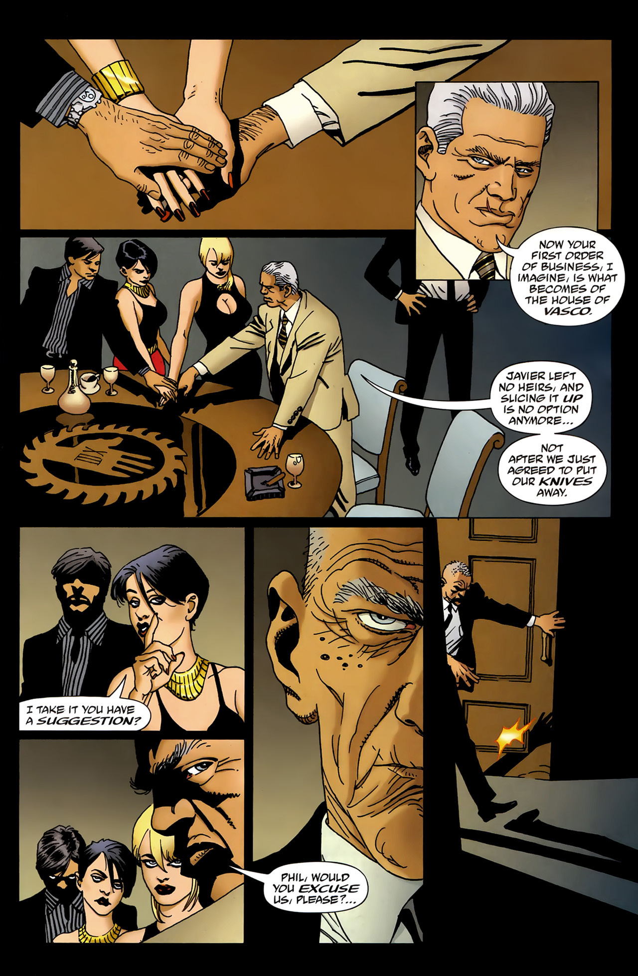 Read online 100 Bullets comic -  Issue #99 - 16