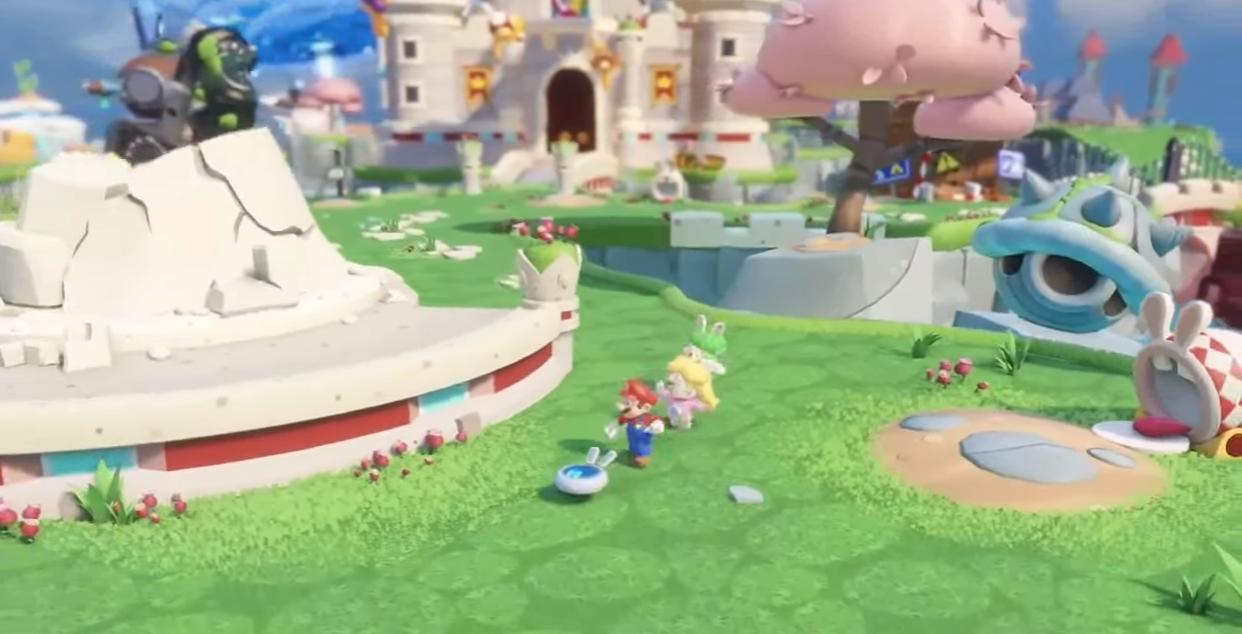 Mario + Rabbids Kingdom Battle lanzamiento para el 29 de agosto, gameplay incluido