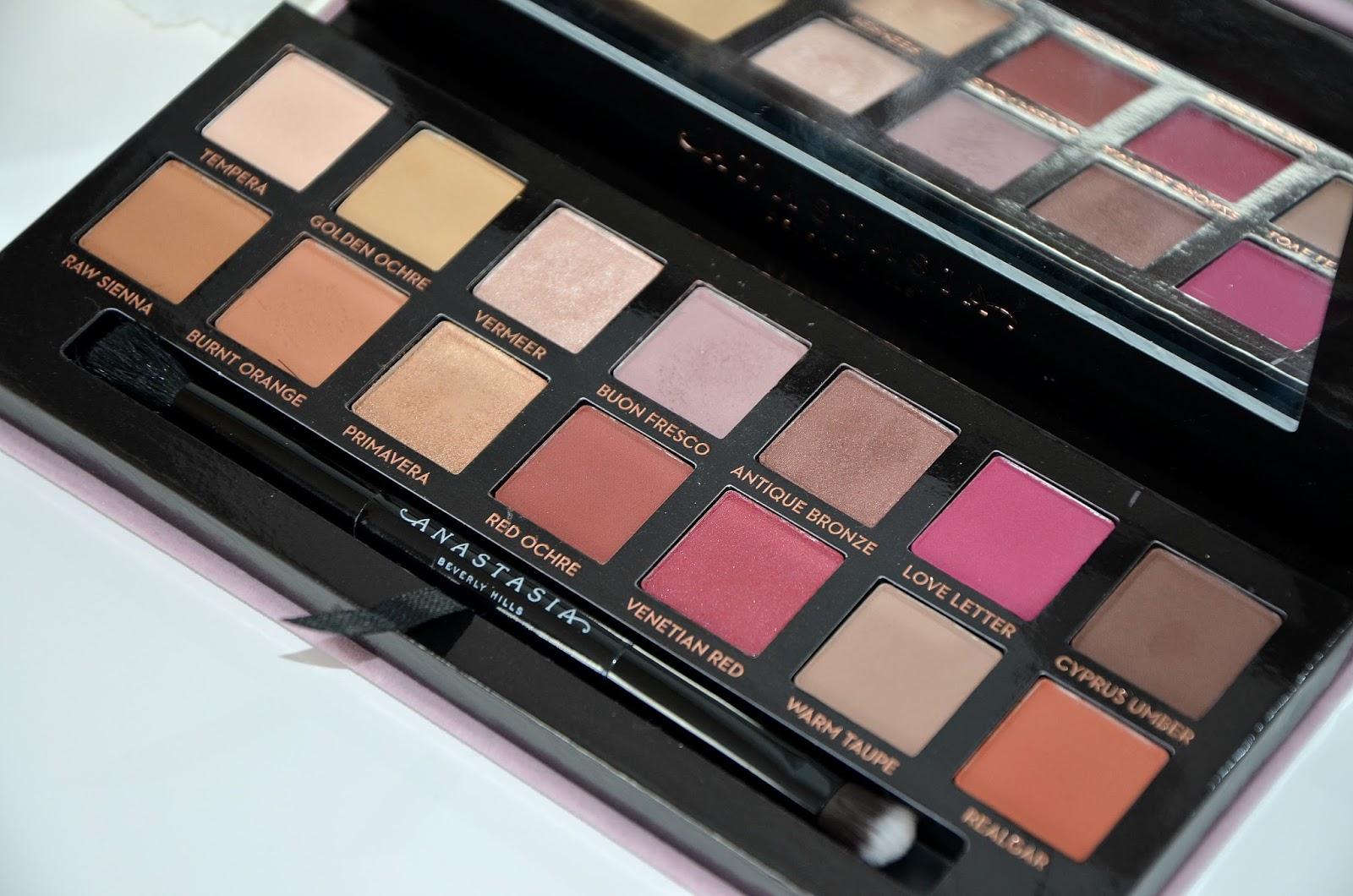 Anastasia Beverly Hills ABH modern renaissance eyeshadow palette blogger