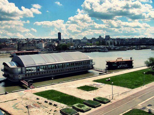 Belgrade city visit in spring